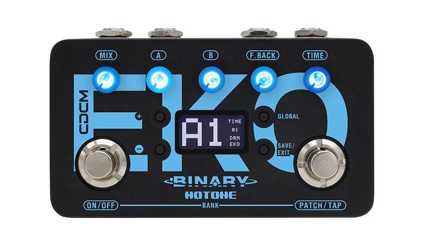 Hotone Binary Eko Delay pedal w/ tap tempo