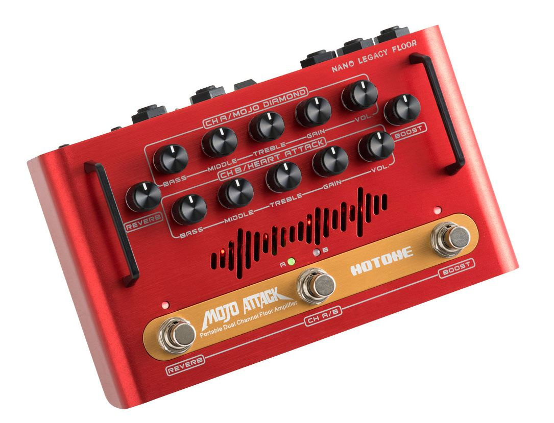 Hotone Mojo Attack Nano Legacy Floor Dual Channel Amplifier - 75 Watts