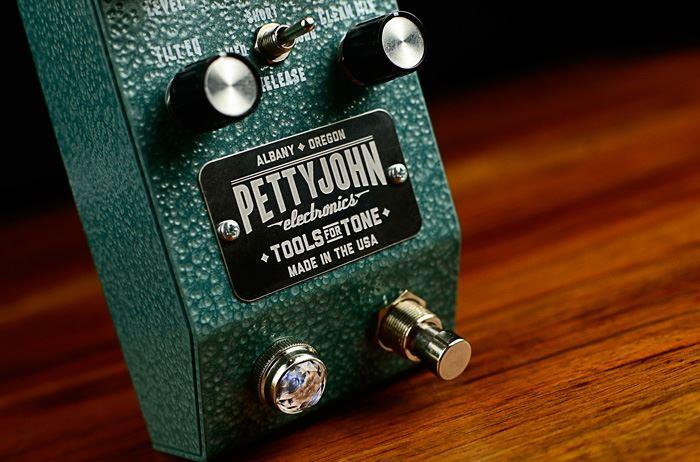 Pettyjohn Electronics Foundry Series Crush Compressor pedal