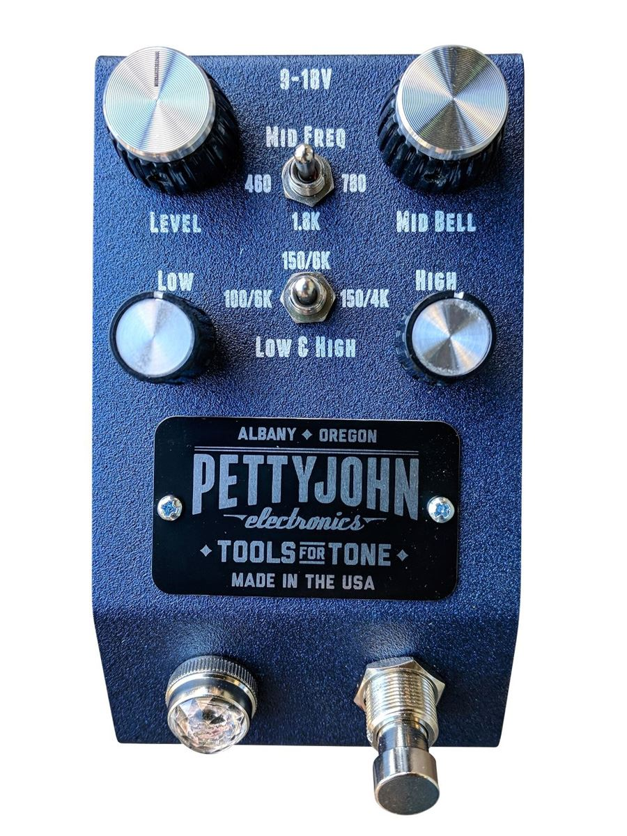 Pettyjohn Electronics Foundry Series Filter Studio Grade EQ pedal