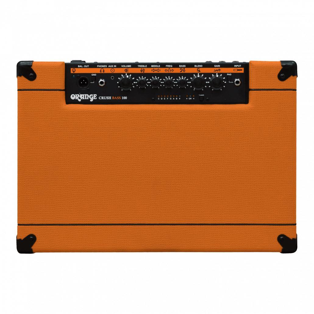 "Orange Amplification Crush Bass 100 1x15"" 100w Bass Combo Amp"
