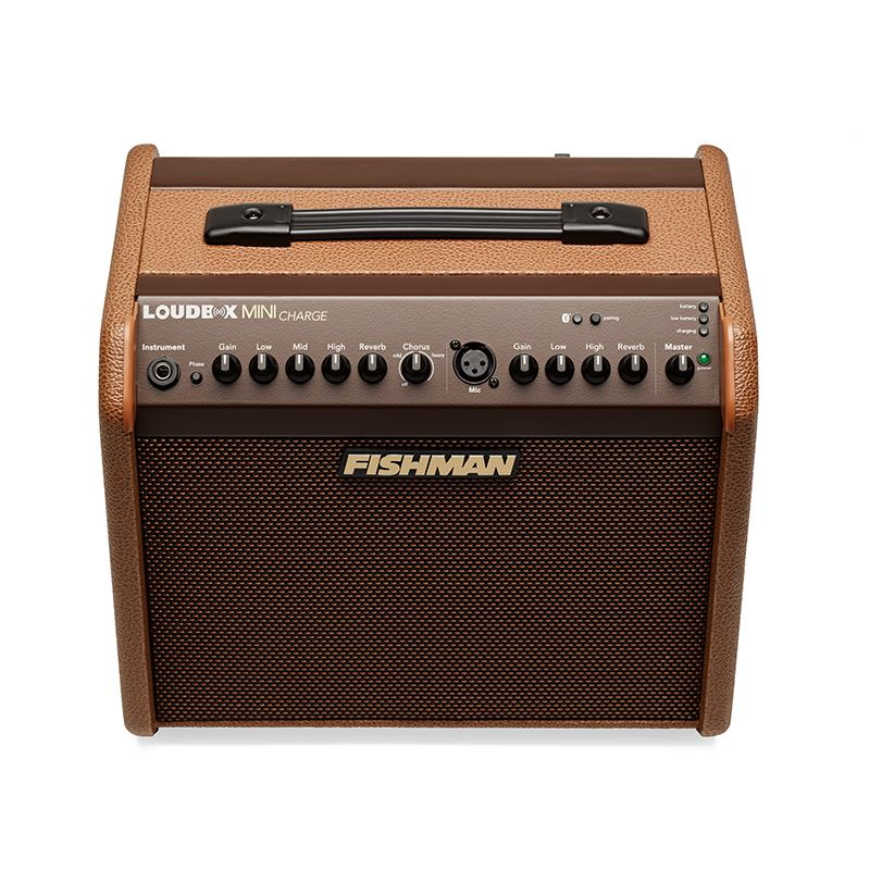 Fishman Loudbox Mini Charge Acoustic Guitar Amplifier  w/ free slip cover & FT-2 Tuner