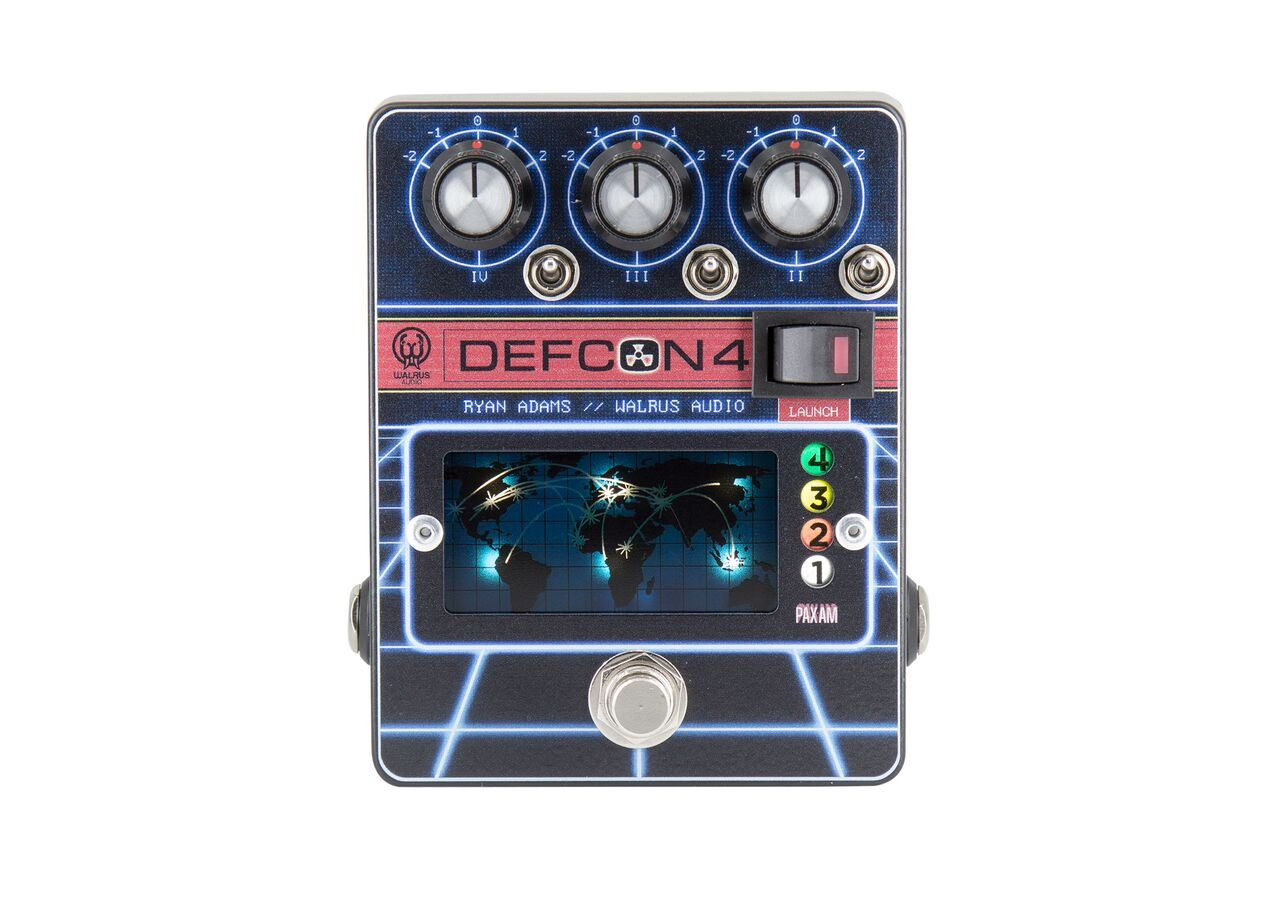 Walrus Audio Defcon4 Preamp / EQ / Boost pedal