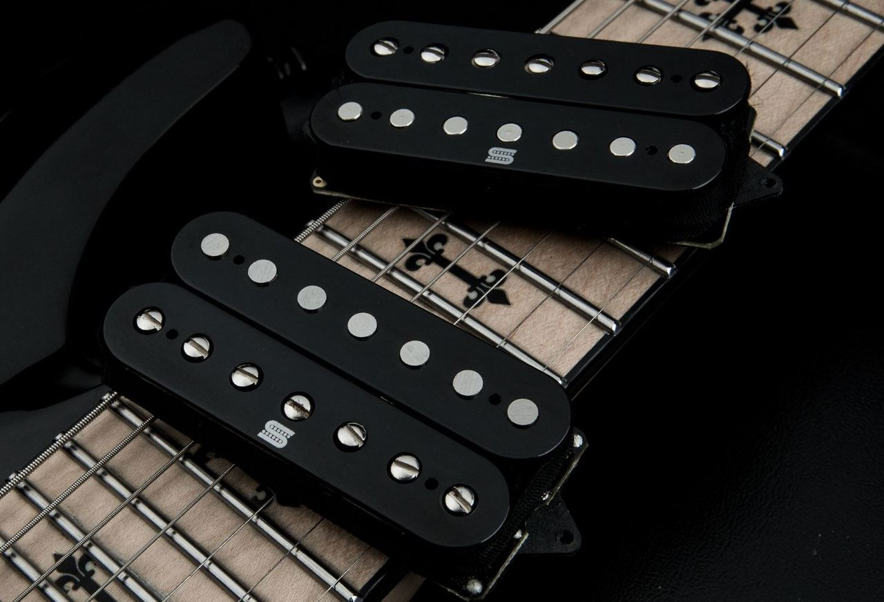 Seymour Duncan Duality 7 String Humbucker set - black