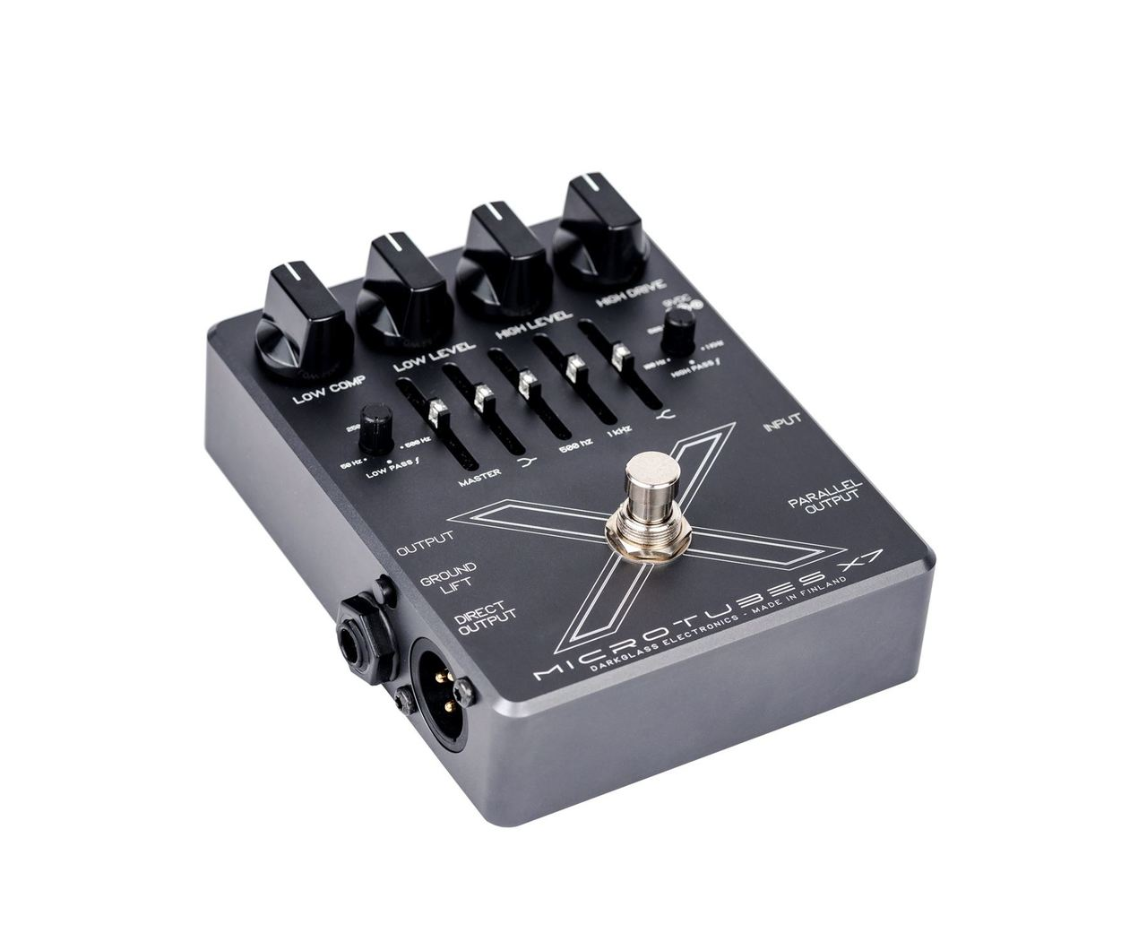 Darkglass Electronics X7 Multiband Distortion pedal w/ crossover & EQ