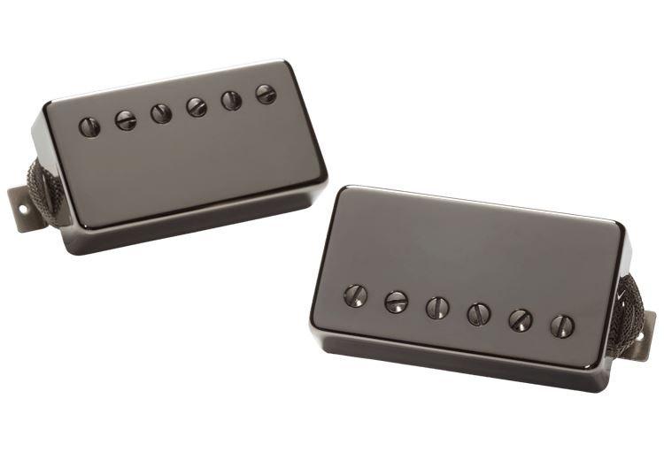 Seymour Duncan Alnico II Pro Slash APH-2 Humbucker Pickup Set - black nickel