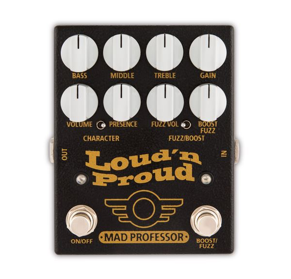 Mad Professor Loud 'N Proud Overdrive / Fuzz pedal