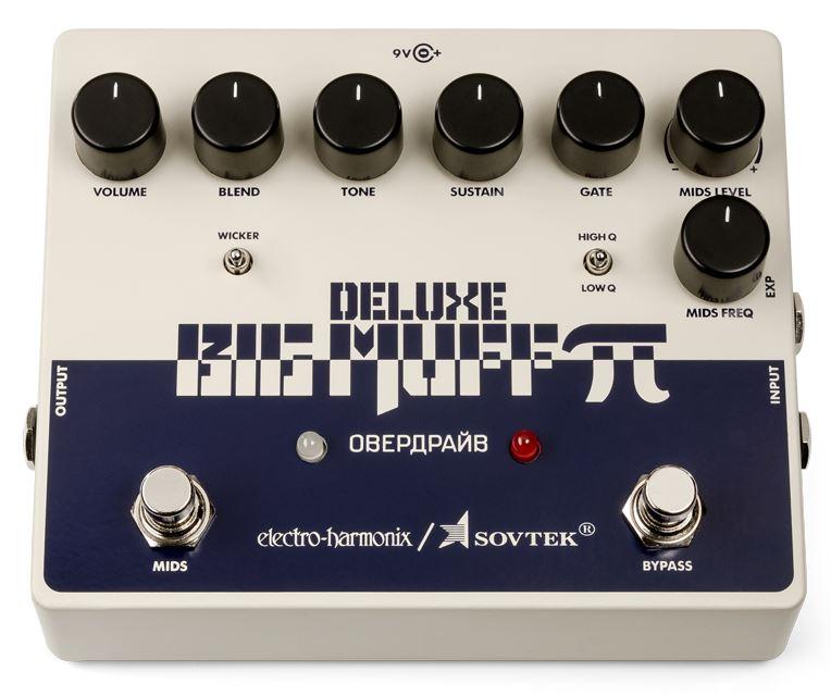 Electro-Harmonix Sovtek Deluxe Big Muff Pi Fuzz pedal
