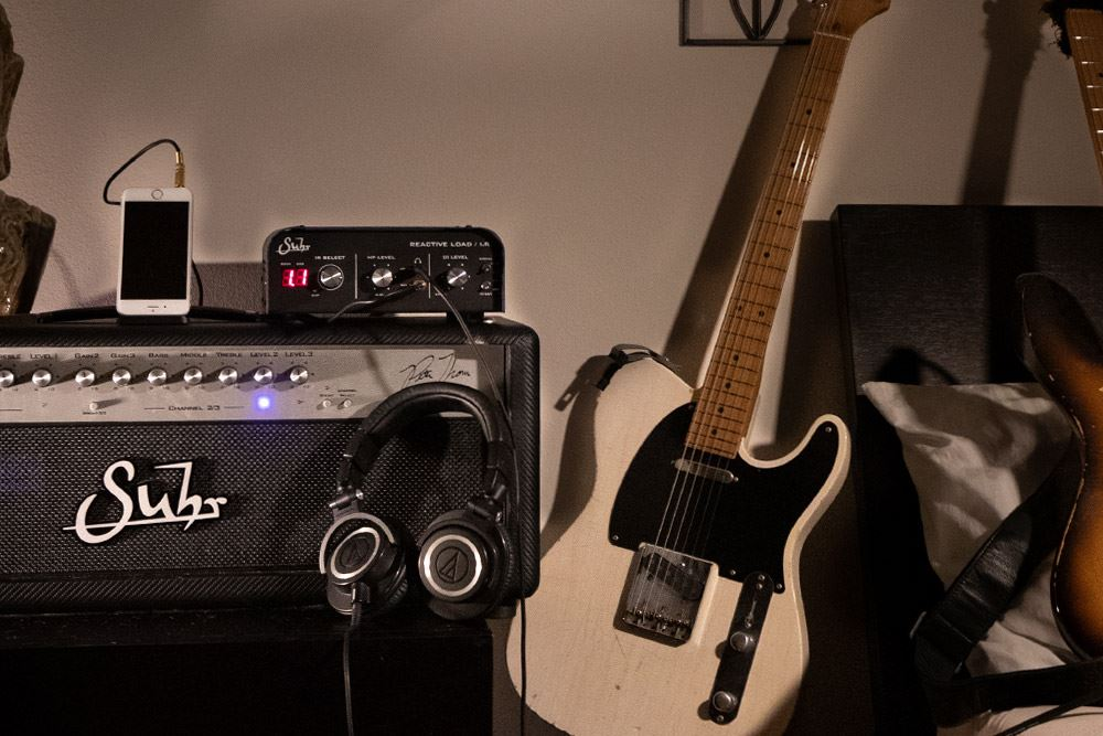 Suhr Reactive Load Box w/ Impulse Responses Recording Interface