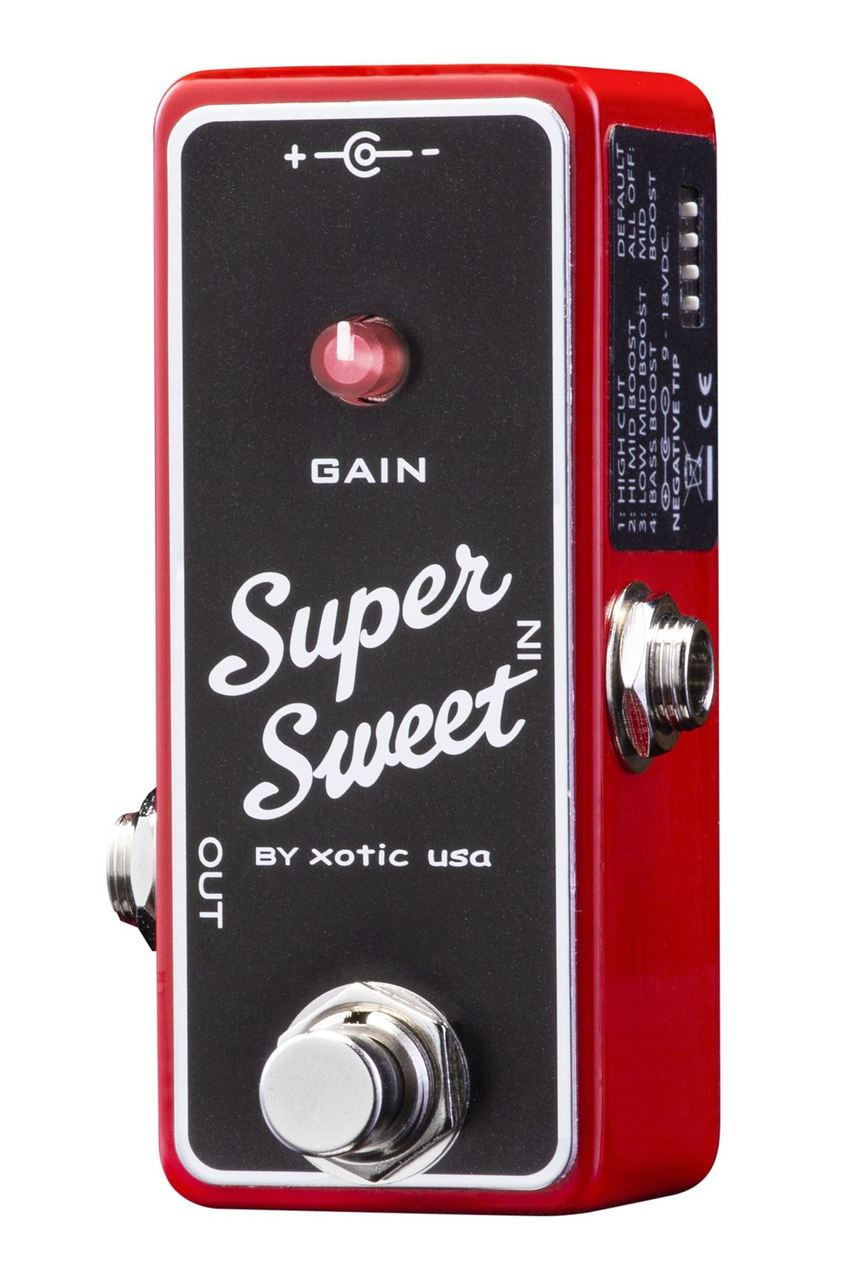 Xotic Effects Super Sweet Booster pedal