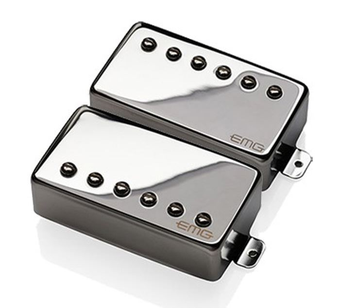EMG Revelation Signature Passive Alnico 2 Humbucker set - chrome