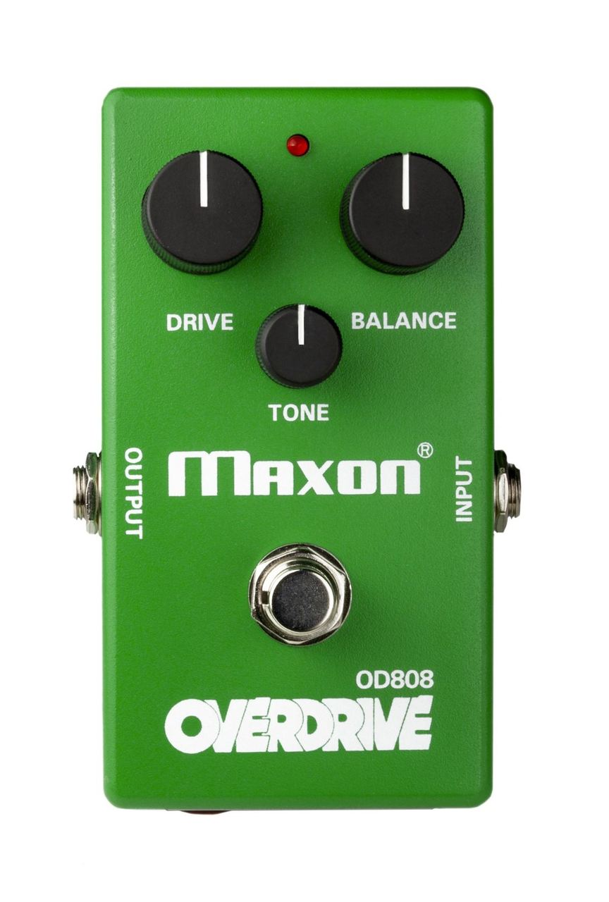 Maxon OD808 Limited Edition 40th Anniversary Overdrive pedal