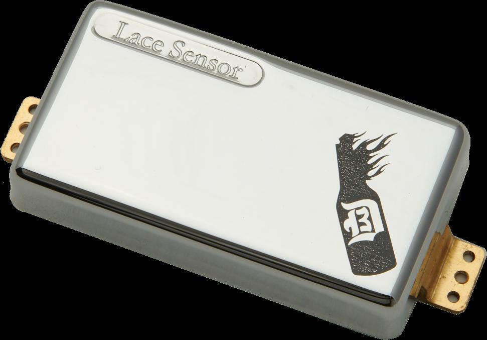 Lace D3BK D'Agitator Humbucker set - chrome