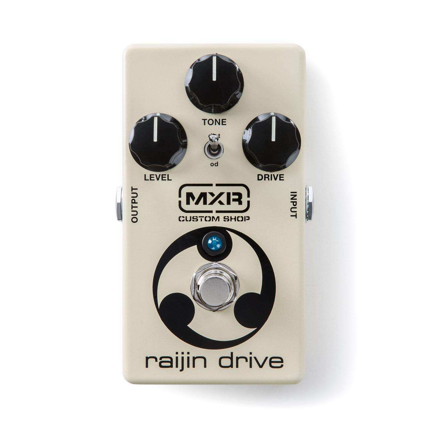 MXR Custom Shop CSP-037 Raijin Drive Overdrive pedal