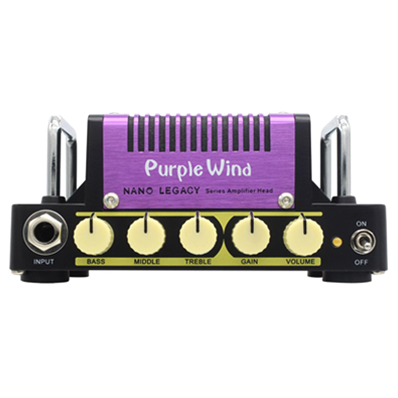Hotone Nano Legacy Purple Wind 5w Class AB Mini Guitar Amp