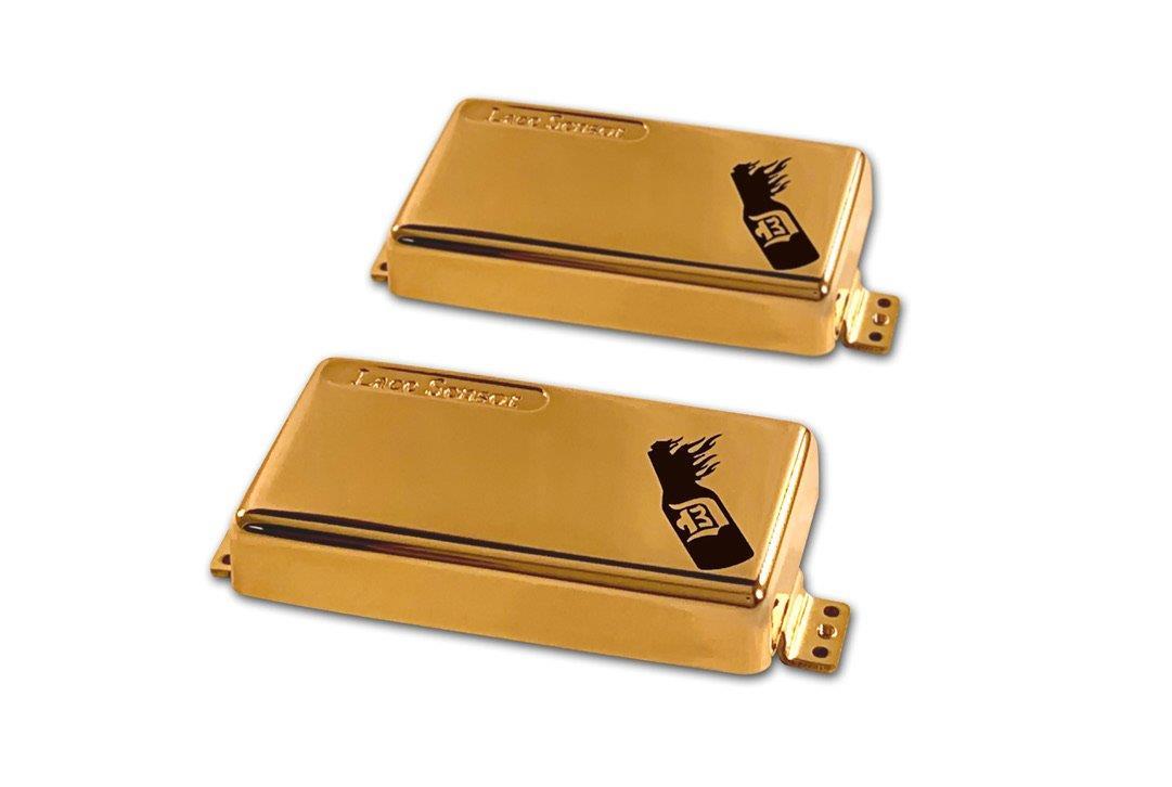 Lace D3BK D'Agitator Humbucker set - gold