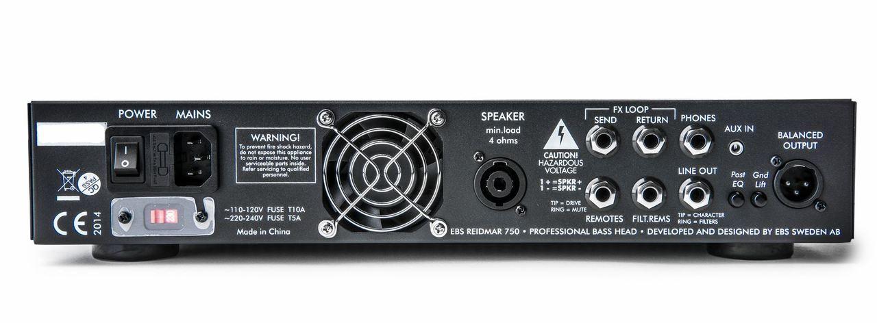 EBS Reidmar 750 Watt Bass Amplifier - open box