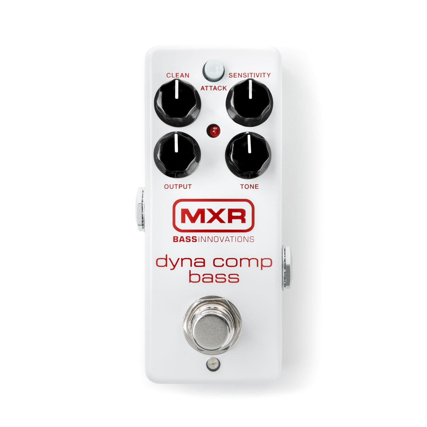 MXR M282 Bass Dyna Comp Mini Compressor pedal w/ 9v power supply