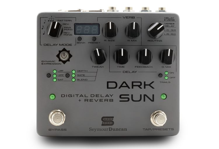 Seymour Duncan Mark Holcomb Signature Dark Sun Digital Delay & Reverb pedal - open box