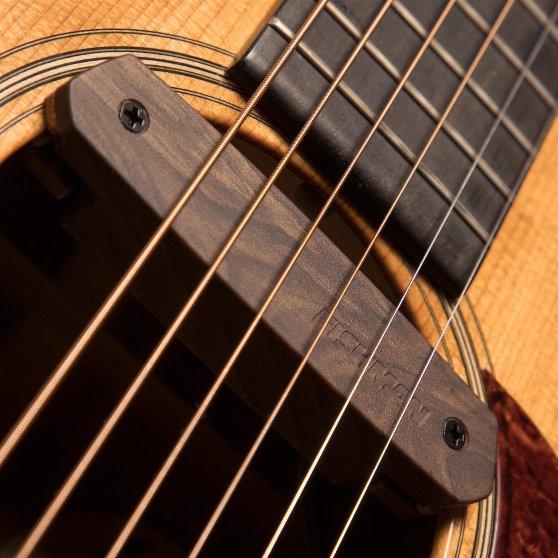 Fishman Neo-D Single Coil Acoustic Guitar Soundhole pickup - woodgrain