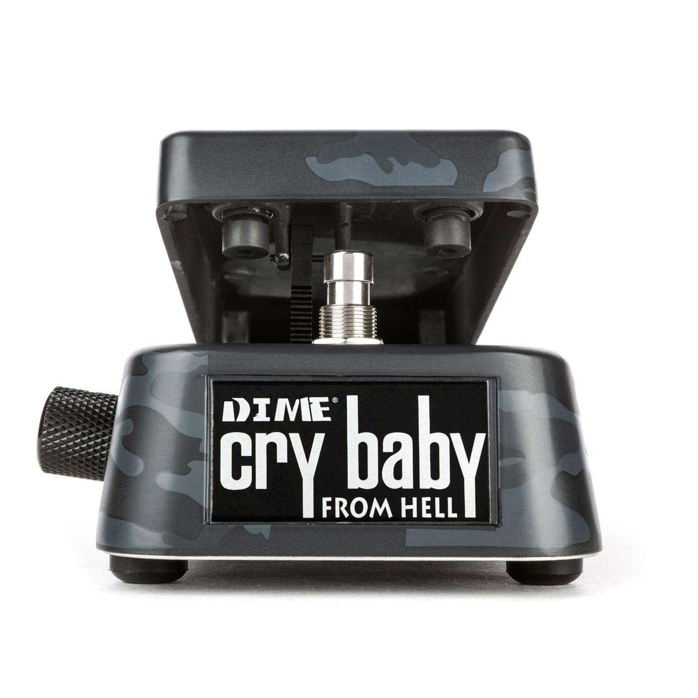 Dunlop DB01 Signature Dimebag Crybaby From Hell Wah - black camo