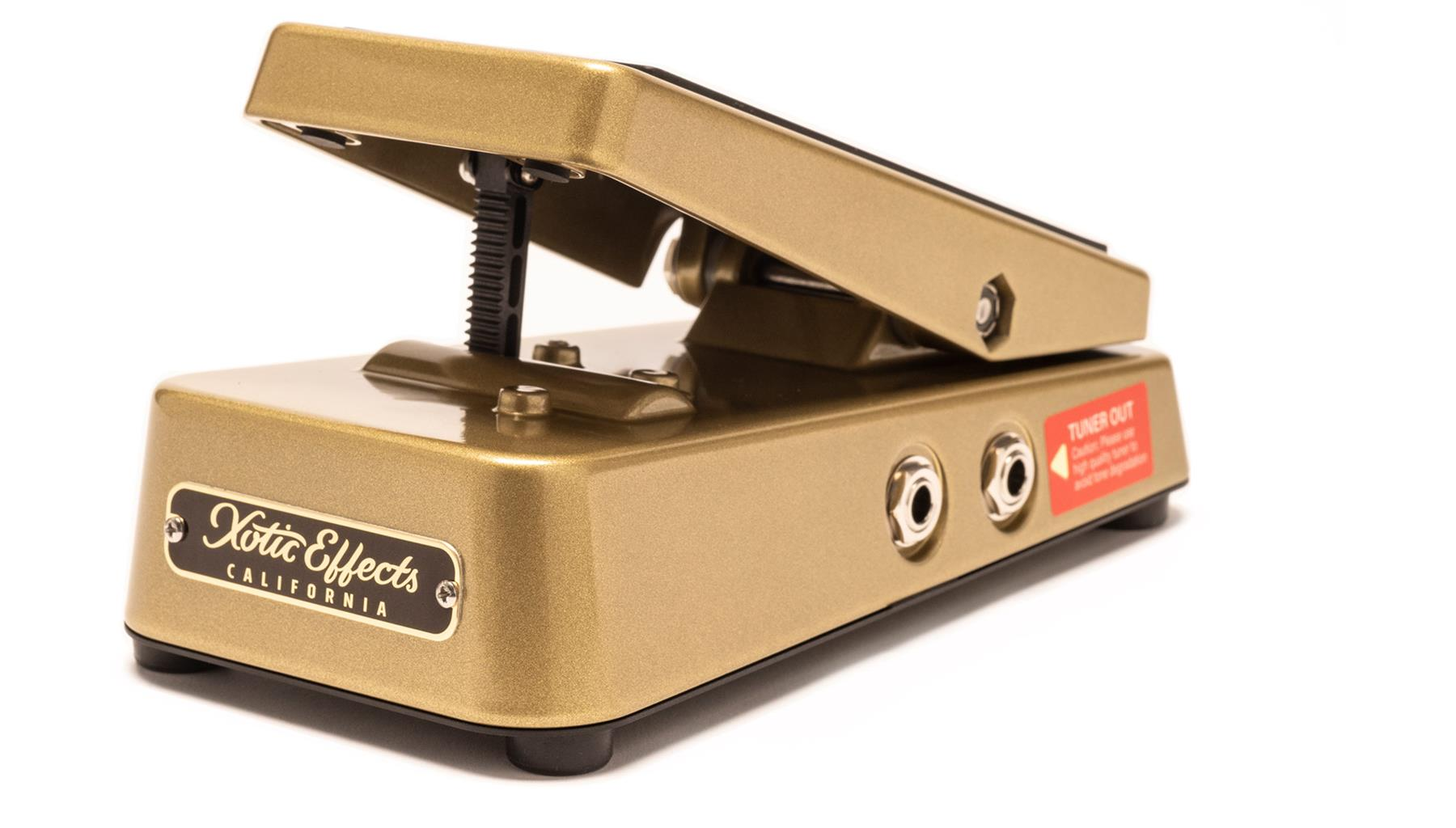 Xotic Effects High Impedance 250k Volume pedal - gold
