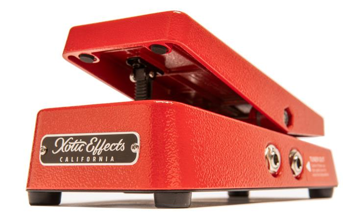 Xotic Effects Low Impedance 25k Volume pedal - red