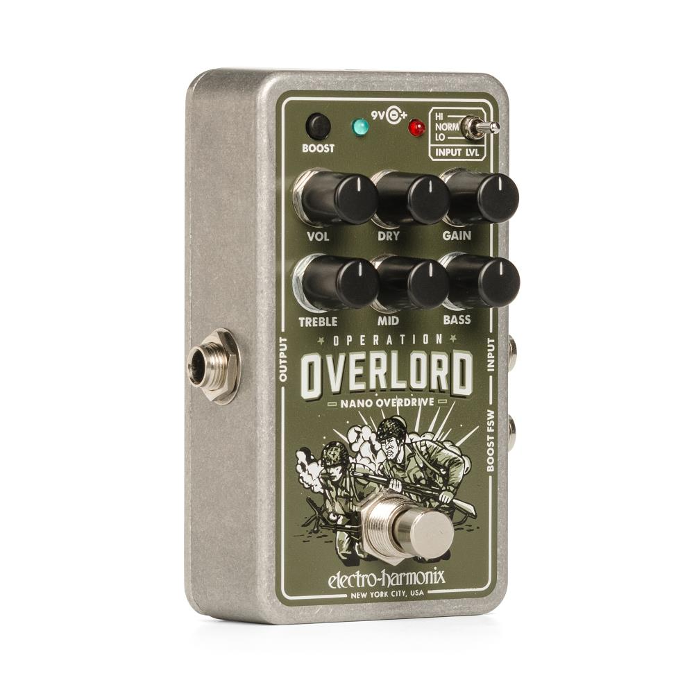 Electro-Harmonix Nano Operation Overlord Overdrive pedal