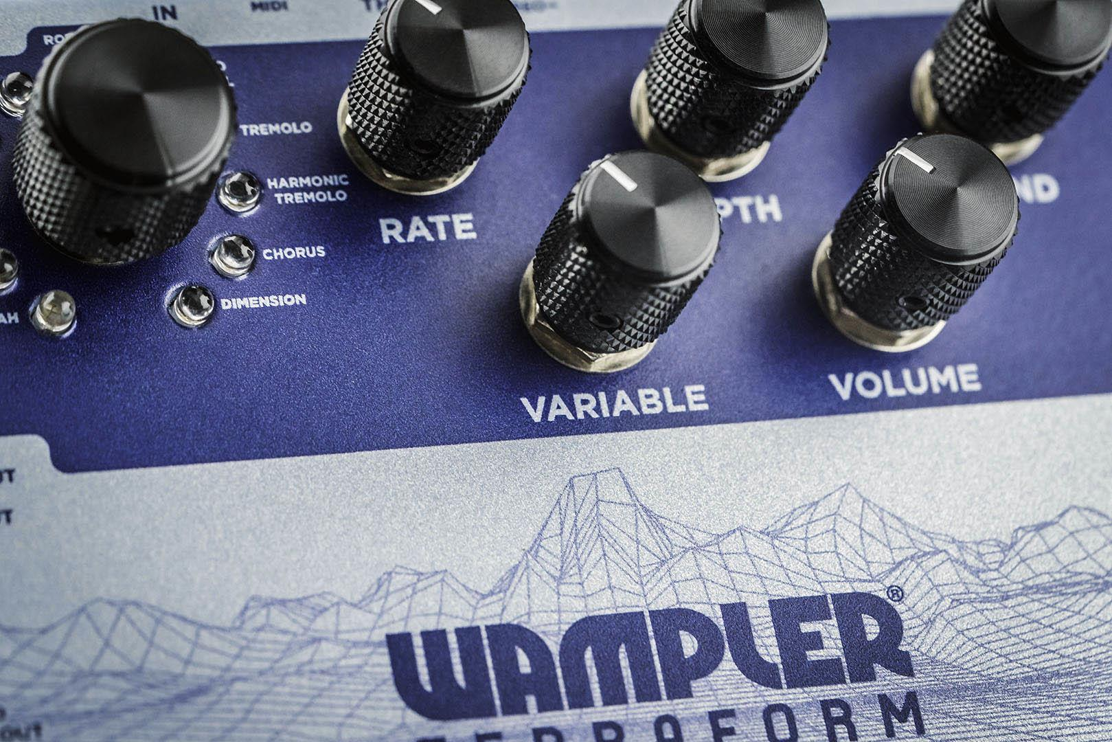 Wampler Pedals Terraform Modulation Multi-Effects pedal