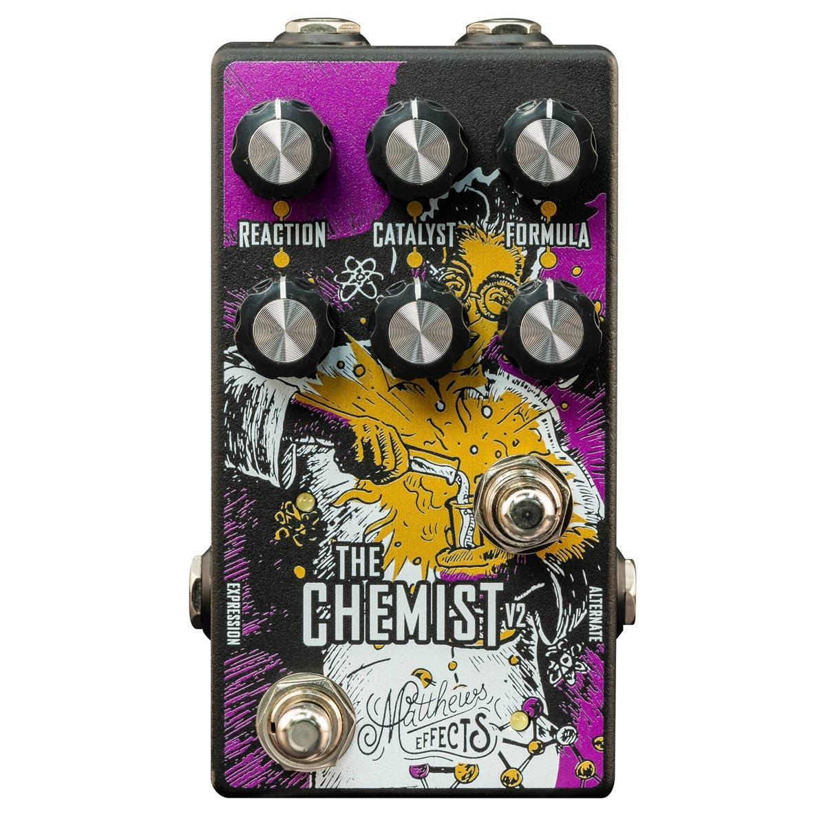 Matthews Effects Chemist v2 Atomic Modulator Octave / Chorus / Phaser pedal