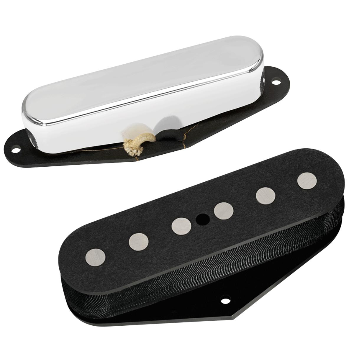 DiMarzio DP177 / DP178 True Velvet Tele neck & bridge pickup set