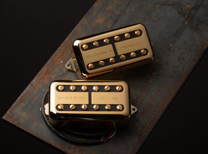 Seymour Duncan Psyclone Filter'Tron Humbucker sized pickup set - gold