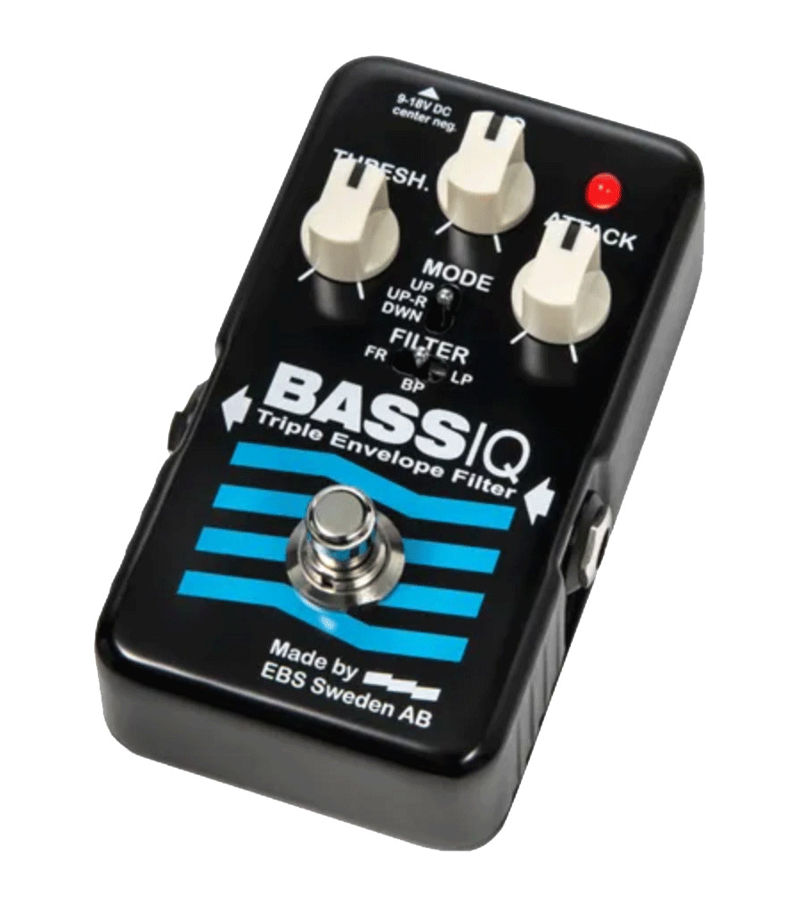 EBS Blue Label Bass IQ Analog Envelope Filter pedal
