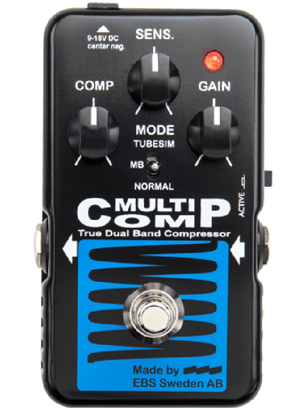 EBS Blue Label MultiComp Compressor pedal