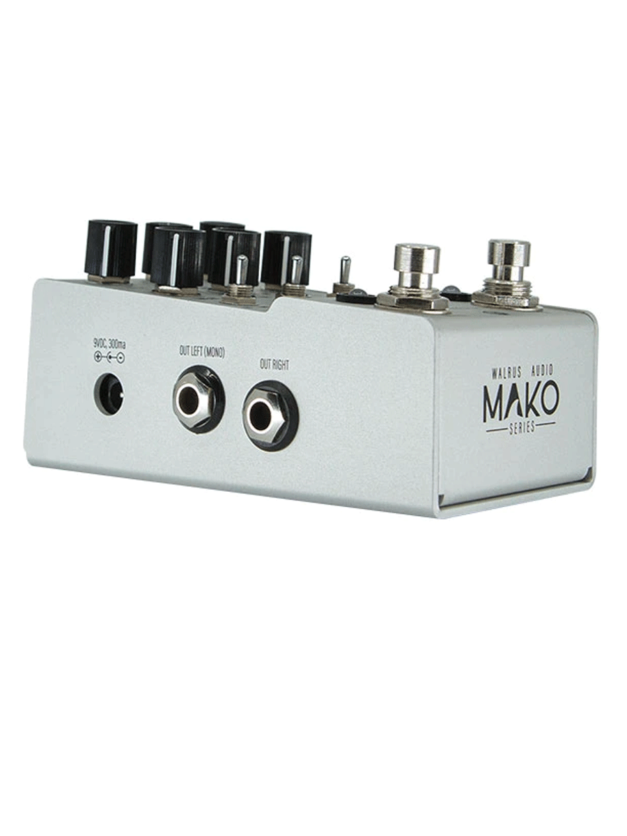 Walrus Audio Mako Series: D1 High-Fidelity Stereo Delay pedal