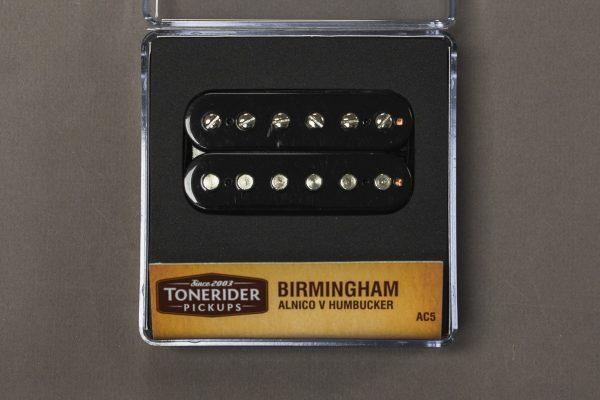 Tonerider Birmingham Alnico 5 Bridge Humbucker - black, F-spaced