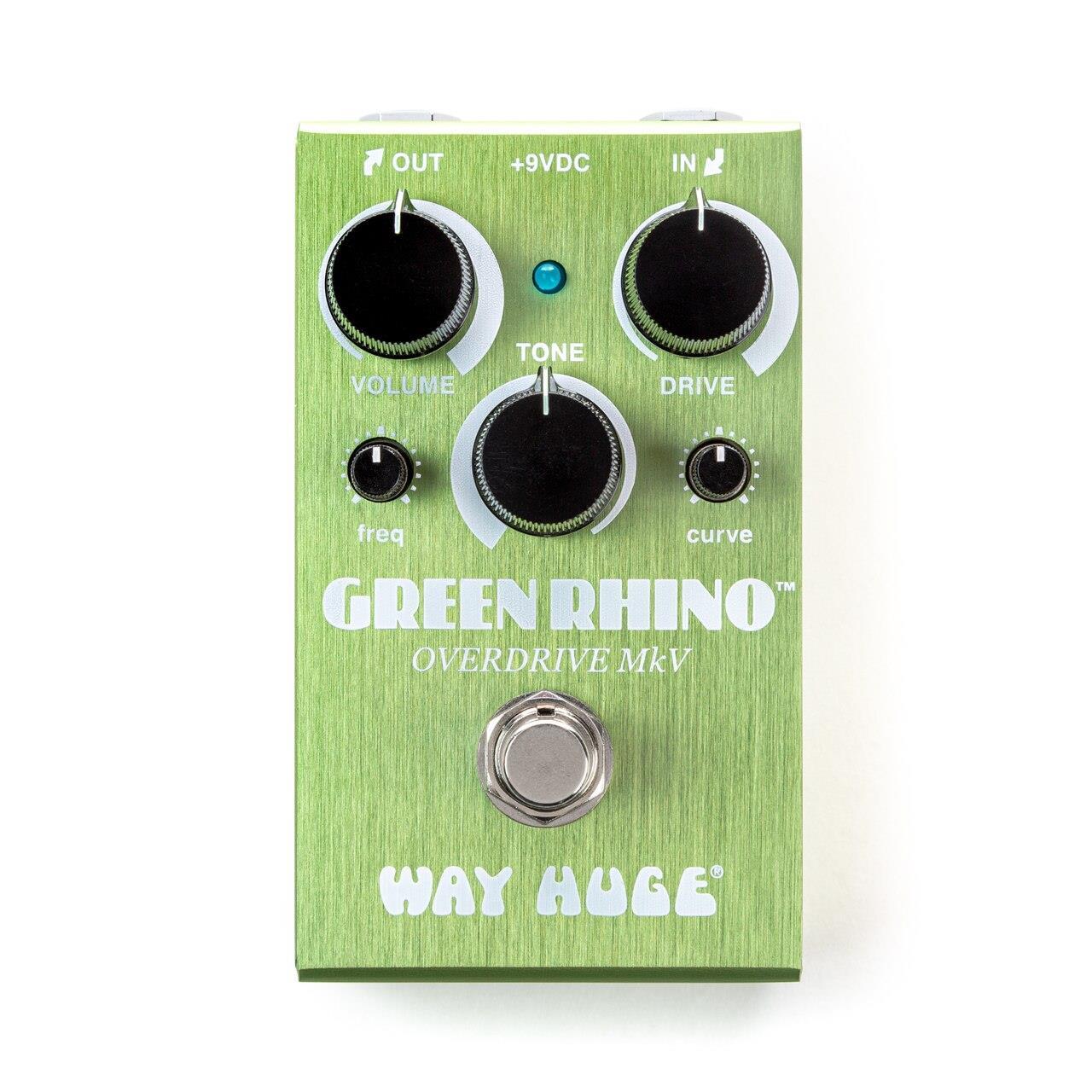 Way Huge Smalls WM22 Green Rhino MkV Overdrive pedal