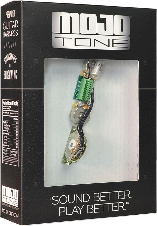 Mojotone Tele 4 Way Solderless Wiring Harness