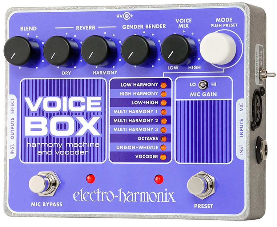Electro-Harmonix Voice Box Harmony Machine & Vocoder