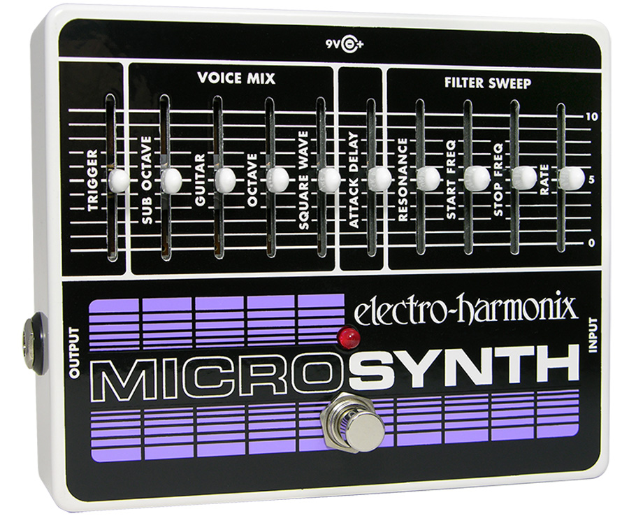 Electro-Harmonix Microsynth Synthesizer pedal