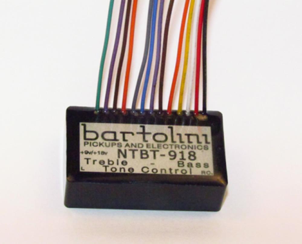 Bartolini NTBTG 2-Band EQ Tone Control Pre-Amp