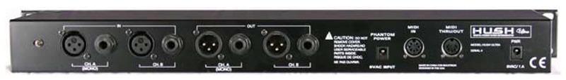 Rocktron Hush Ultra Programmable Stereo Noise Reducer