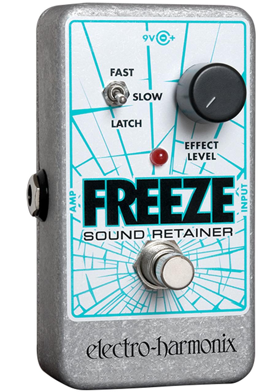 Electro-Harmonix Freeze Sound Retainer Infinite Sustain pedal