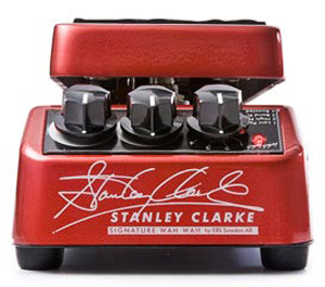 EBS Stanley Clarke Signature Bass Wah-Wah / Volume Pedal