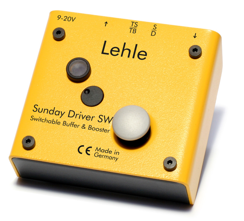 Lehle Sunday Driver SW Buffered Line Driver / Preamp w/True Bypass Switch