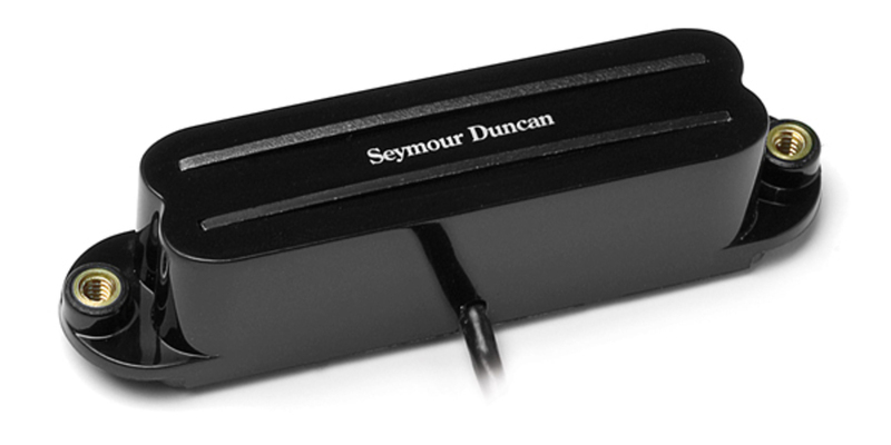 seymour duncan shr-1 hot rails for strat - black, neck middle - macdaddy  music