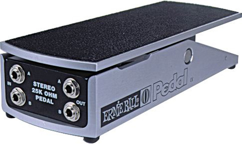 Ernie Ball 6167 25K Stereo Volume Pedal - Active