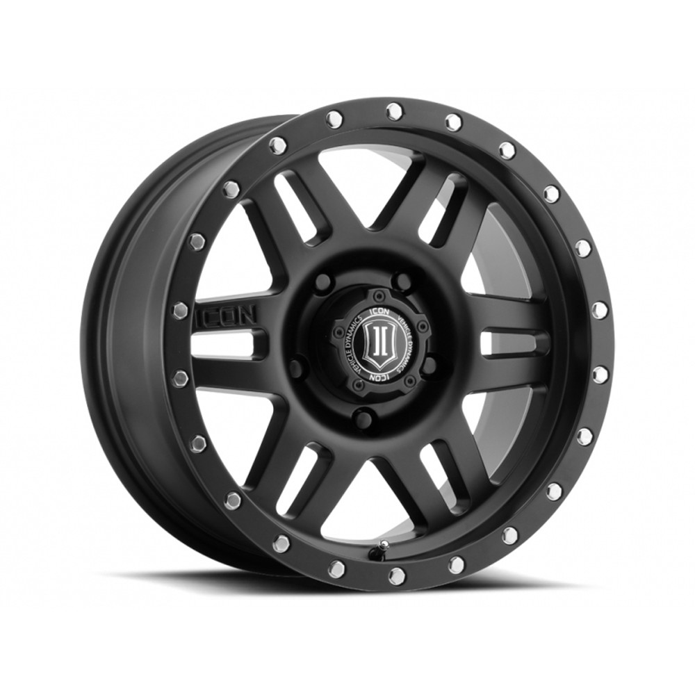 "17"" Six Speed Wheels Satin Black Finish for Toyota"