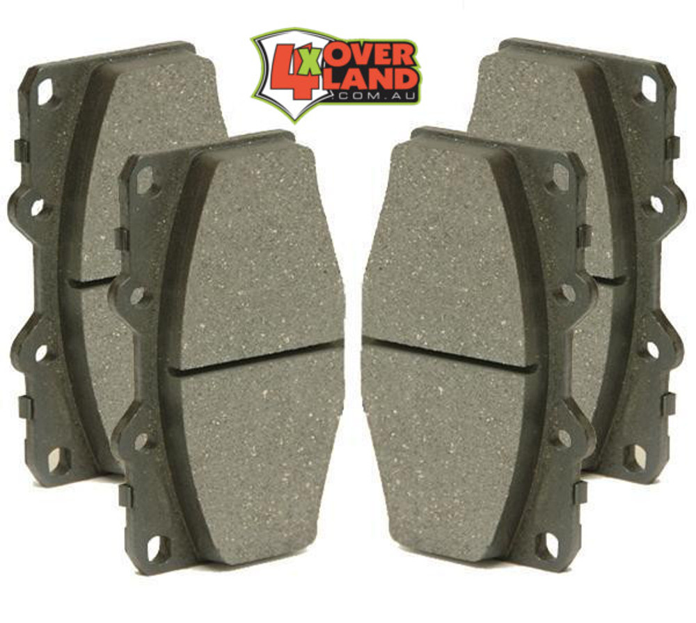 Toyota 200 Series TTD and V8 Auto-Craft Performance Brake Pads Rear