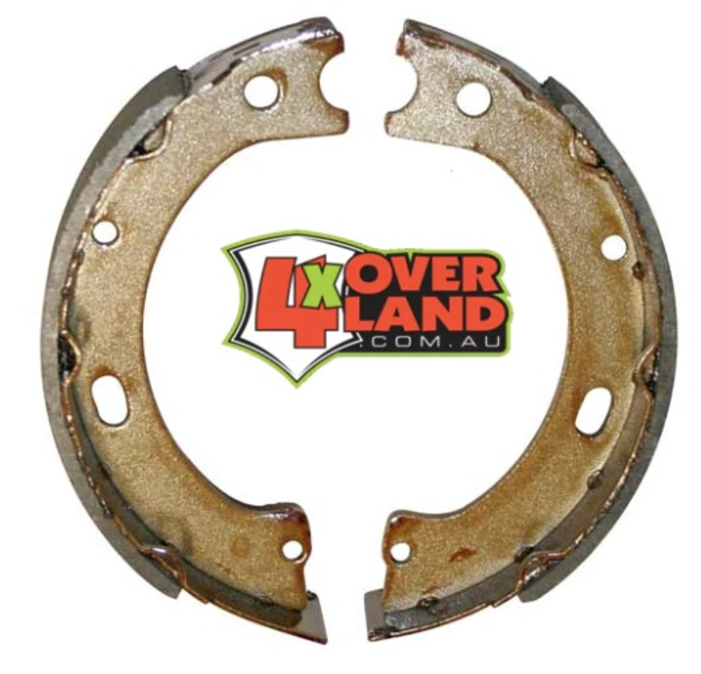 Upgraded hand brake shoe kit suit Land Cruiser Toyota 200 series